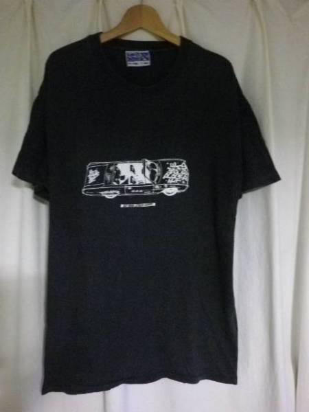 90s RISE FROM THE DEAD ライズフロムザデッド Tシャツ S-M位 SOB/GISM/GAUZE/LIP CREAM