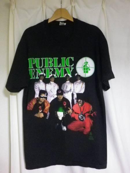 90s 1991年 ヴィンテージ PUBLIC ENEMY パブリックエネミー Tシャツ RAP TEES
