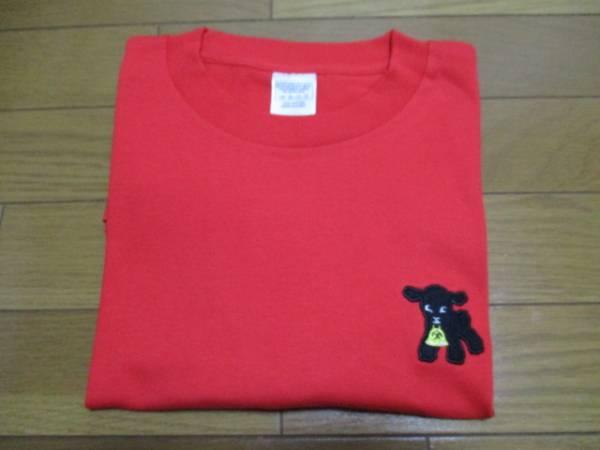 激レア!即決有り! スピッツ 2015 Tシャツ 赤 左の胸の犬 (Sサイズ)