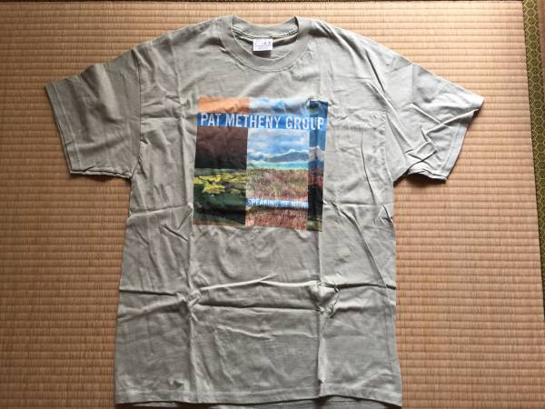 Pat Metheny Group パットメセニー コンサート Tシャツ 2002年 新品