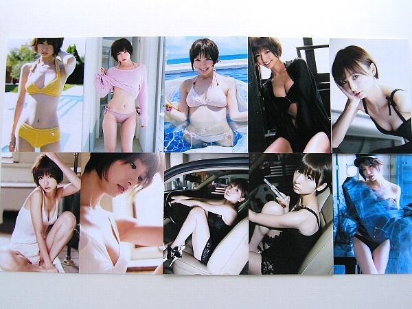 篠田麻里子 グラビア生写真 12枚セット