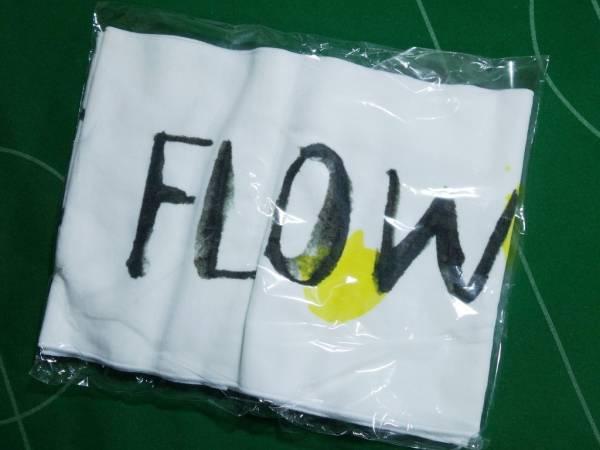 ○YUI フラフラFLOWER FLOWER オリジナルグッズ バンド名ロゴ タオル 未開封・未使用!!!○