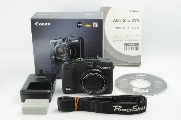 美品◆キヤノン パワーショット Canon PowerShot G15