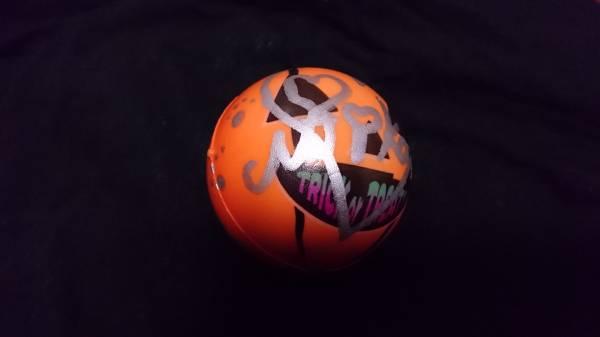 欅坂46 石森虹花 Perfect Halloween 2016/10/22 直筆 ボール