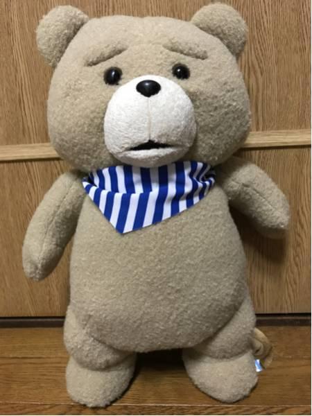 最新!テッド2 ted2☆おめかしスカーフぬいぐるみXL(ブルー) グッズの画像