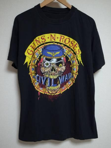 1991年製 ガンズ アンド ローゼス Tシャツ 美品 GUNS N' ROSES VINTAGE ビンテージ BROCK