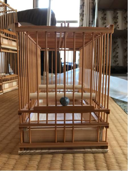 ☆竹製手作り鳥かご*6個組*送料込み☆_画像2
