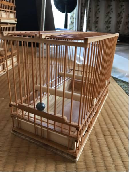 ☆竹製手作り鳥かご*6個組*送料込み☆_画像3