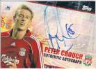 2007 TOPPS PREMIER Peter Crouch/ピーター・クラウチ 直筆サインカード