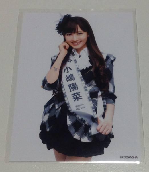 AKB 小嶋陽菜 2012 総選挙ガイドブック 生写真 白黒ドレス