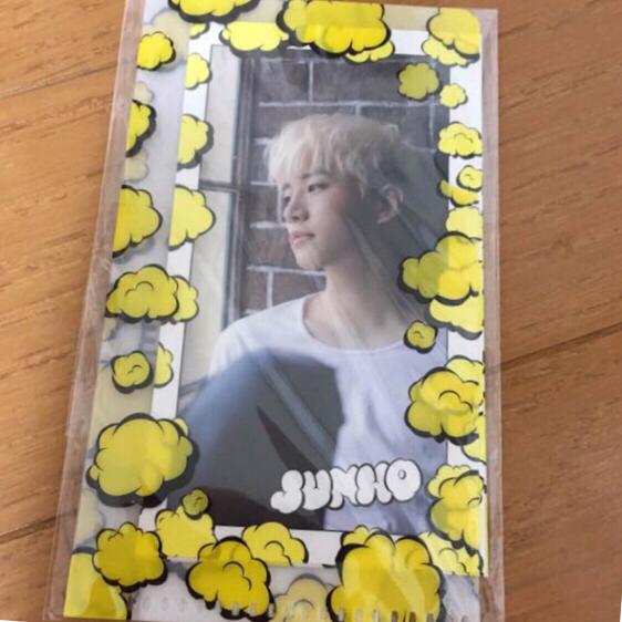 2PM★ジュノ★ FEEL★ミニカード&ファイルset☆Junho【新品未開封品】