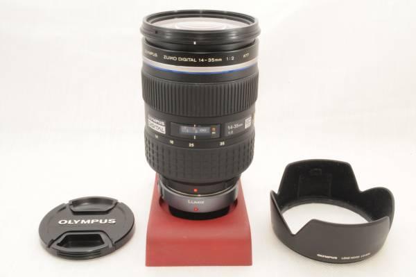 ★極上品★オリンパス OLYMPUS ZUIKO DIGITAL ED 14-35mm f2.0 SWD レンズフード付!
