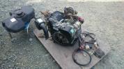 イセキ PG63 田植機 ガソリンエンジン FE400D 川崎重工 エンジン セル エアクリーナー 付き