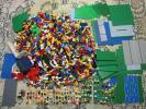 〇レゴ 14㎏ 基本ブロック ミニフィグ 100体 プレート 中古品 家 大量