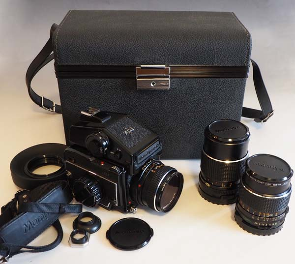 217■マミヤ M645/MAMIYA SEKOR C 1:2.8 f=80mm他レンズ計3本