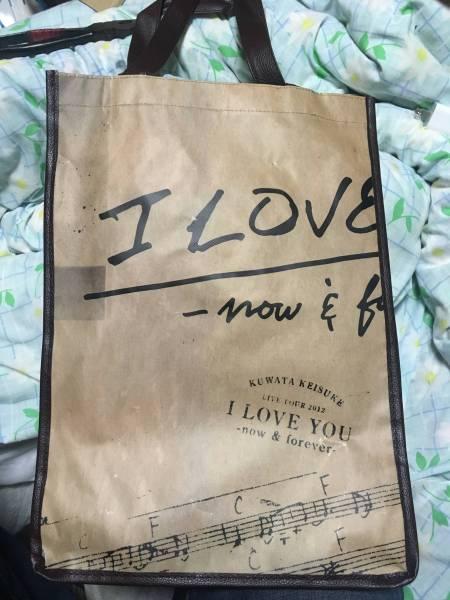桑田佳祐 ライブ グッズ I Love you now & forever ショッピングバッグ サザンオールスターズ