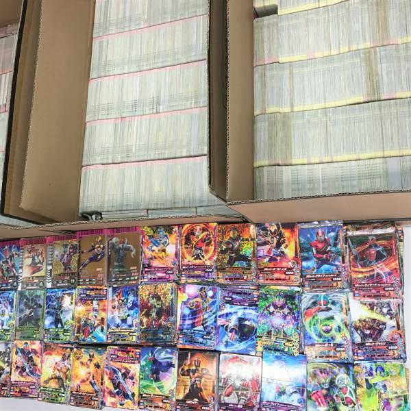 仮面ライダー カード ガンバライド ガンバライジング レジェンド スーパーレア LR SR SP レア ノーマル キラ 大量 まとめて 20000枚 セット_画像3