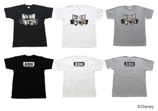 ケツメイシ ディズニー コラボTシャツ 白 Sサイズ クラブケツメイシ限定商品 ライブグッズの画像