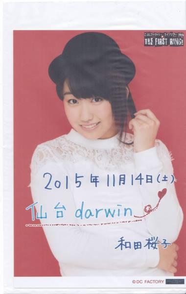 【和田桜子】 2015/11/14 仙台darwin 日替りソロA5ワイドサイズ生写真