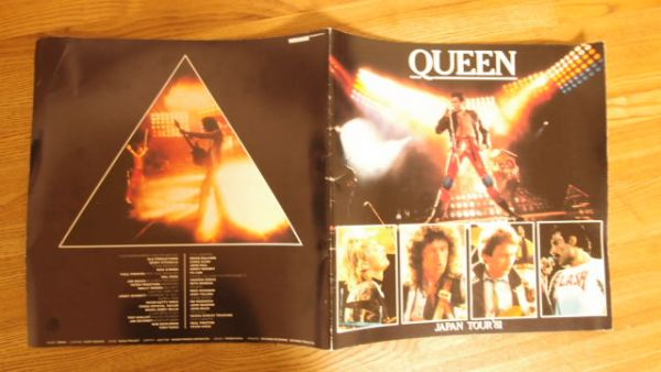 ◆QUEEN パンフ JAPAN TOUR'81◆
