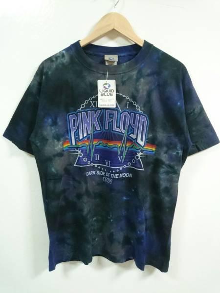 新品 LIQUID BLUE PINK FLOYD ピンクフロイド タイダイ Tシャツ Mサイズ ロック 復刻