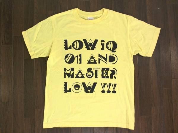 ロー・アイキュー・イチ【LOW IQ 01 MASTER LOW 】両面プリント 半袖Tシャツ プリントスター S クリーム