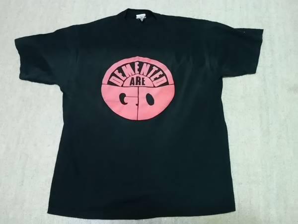 DEMENTED ARE GO デメンテッドアゴー Tシャツ S PSYCHOBILLY サイコビリー 90's PUNK 666 ニンジャマンズ CRACKS