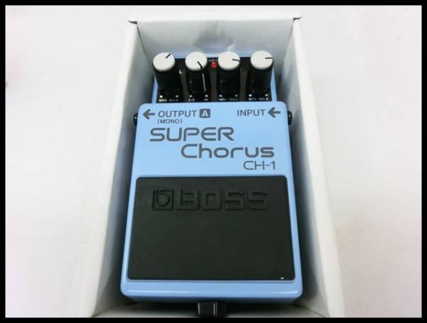 現状/動作未確認 BOSS/ Super Chorus/スーパーコーラス CH-1
