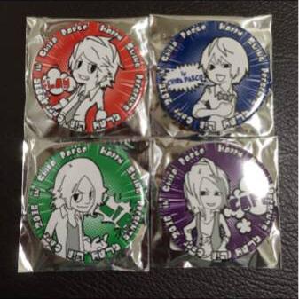 ★GLAY LiB cafe 2016/TAKURO HISASHI TERU JIRO/千葉PARCO★缶バッジ バッチ