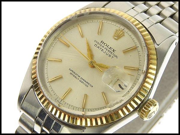 本物 ロレックス デイトジャスト メンズ オートマ AT 腕時計 ウォッチ 1601 11番台_画像2