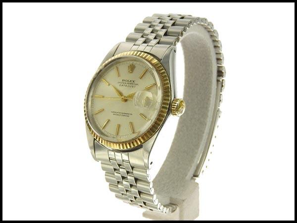 本物 ロレックス デイトジャスト メンズ オートマ AT 腕時計 ウォッチ 1601 11番台