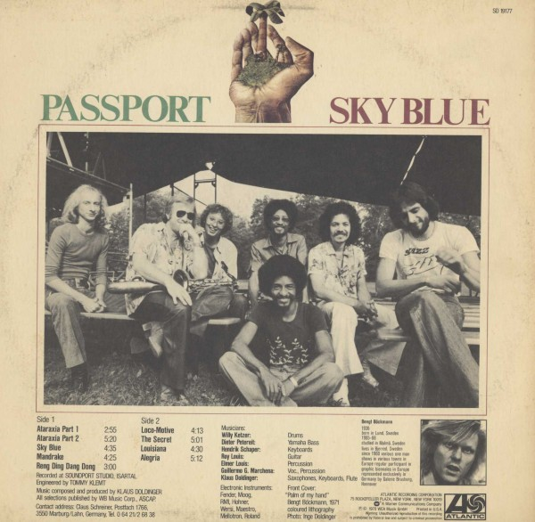 即決(LP)SKY BLUE/PASSPORT *LOFT,LOCO-MOTIVE_画像2
