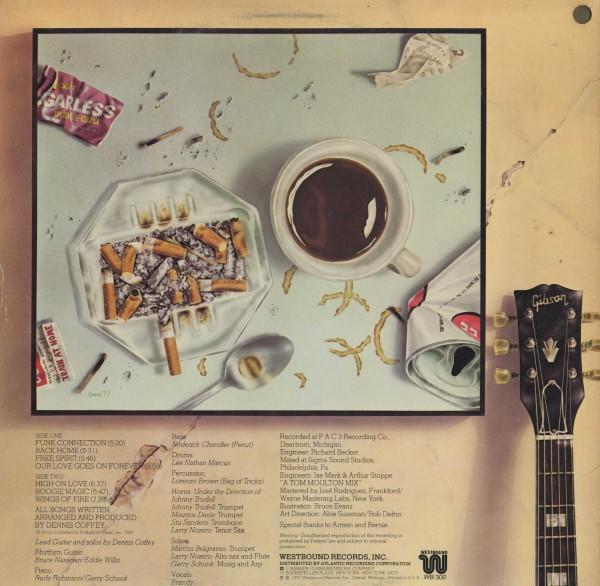 即決(LP)BACK HOME/DENNIS COFFEY *FREE SPIRIT_画像2