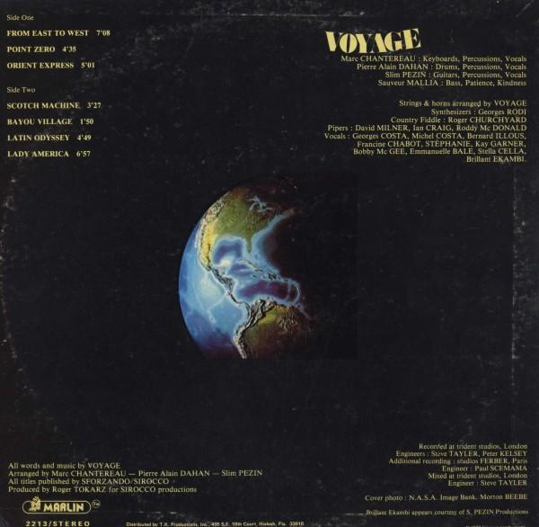 即決(LP)S.T/VOYAGE *FROM EAST TO WEST,LADY AMERICA,GARAGE_画像2