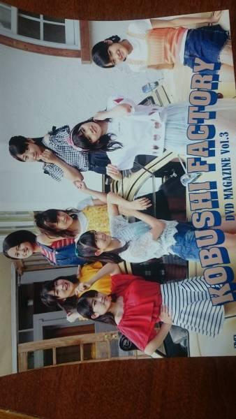 こぶしファクトリー DVD MAGAZINE VOL.3 ライブグッズの画像