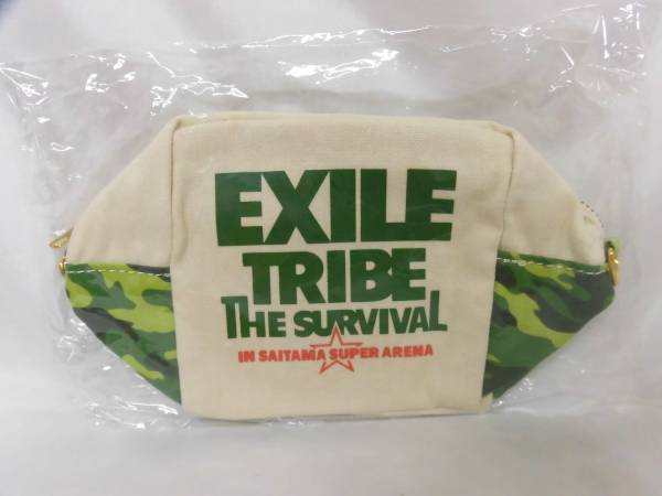 ⑤★EXILE・TRIBE THESURVIVAL・カモフラージュポーチ★