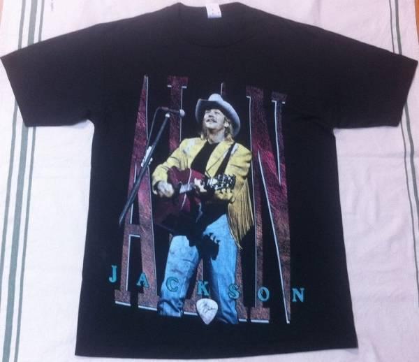 アメリカン・カントリー大御所!アランジャクソンのビッグサイズTシャツ★XLサイズ相当★Alan Jackson