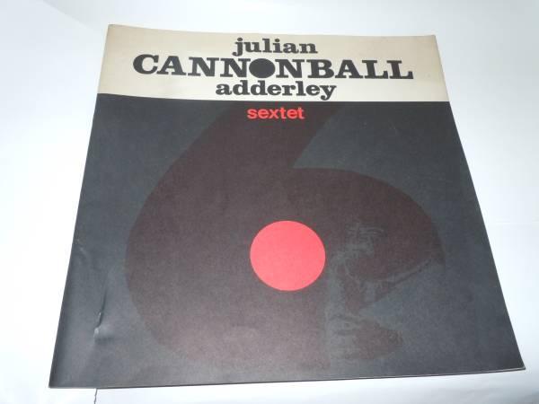 JULIAN CANNONBALL adderley sextet JAPAN - TOUR - 1963  プログラム ライブグッズの画像