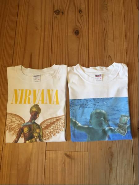 2枚セット 半袖Tシャツ ニルヴァーナ ネバーマインド インユーテロ サイズM