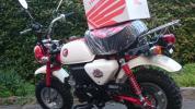 ホンダ モンキー 50周年記念モデル 未登録(限定ヘルメットセット)