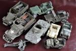 M8グレイハウンド、装甲車、ジープ他 モーターライズあり ジャンク品