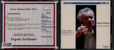 スヴェトラーノフ−スウェーデン放送交響楽団/マーラー:交響曲第9番(中古CD2枚組)