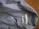 ガリャルダガランテ THOMAS MASON ネイビー×ホワイト チェックシャツ