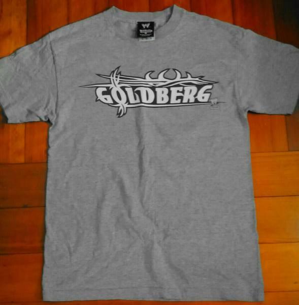 WWE ゴールドバーグTシャツ Mサイズ WCW グッズの画像