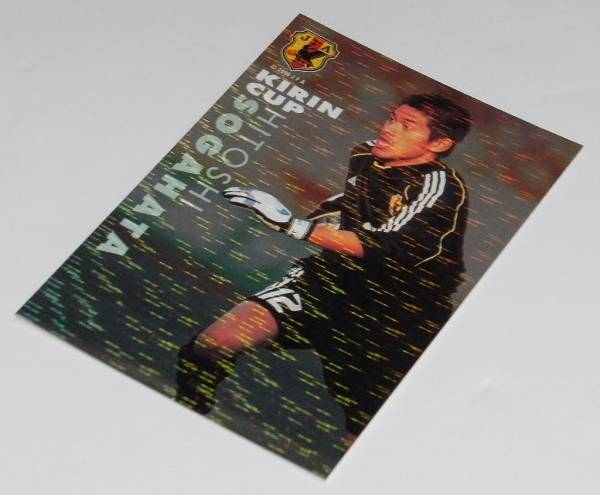 カルビー Jリーグチップス サッカー日本代表チーム 2002 第1弾 キリンカップ2002出場メンバーカード・N-01 曽ヶ端 準 鹿島アントラーズ_画像1