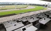 5/28(日) 日本ダービー 5階A指定席 1席 シングル 最前列 東京競馬場 JRAカード席