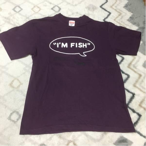 FISHMANS TシャツI'M FISHデザイン LONG SEASON REVUE ver. Mサイズ フィッシュマンズ 古着