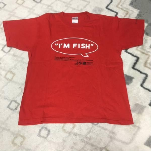 FISHMANS TシャツI'M FISHデザイン フィッシュマンズTシャツ10周年復刻デザイン Mサイズ 古着
