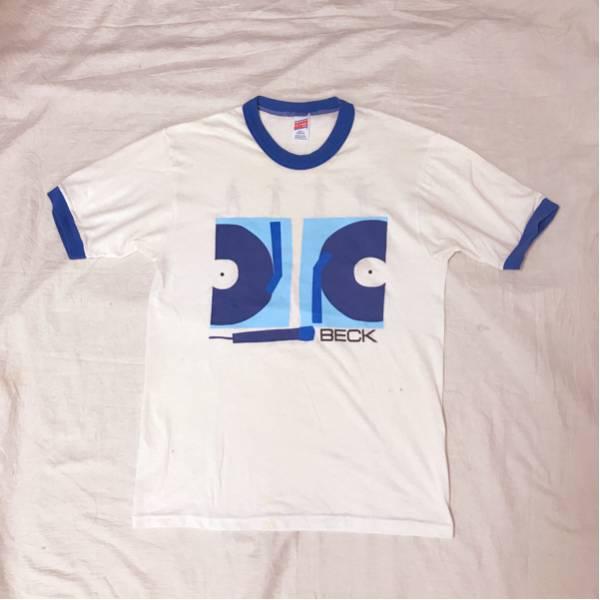 即決 90s BECK Tシャツ USA製 vintage ベック レディオヘッド リンガー ザスミス レッドホットチリペッパーズ