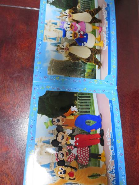 TDLフォトファン2009年 3面台紙付き(ミッキー・ミニープルート・グーフィー/ドナルド・デイジー・チップ・デール) ディズニーグッズの画像